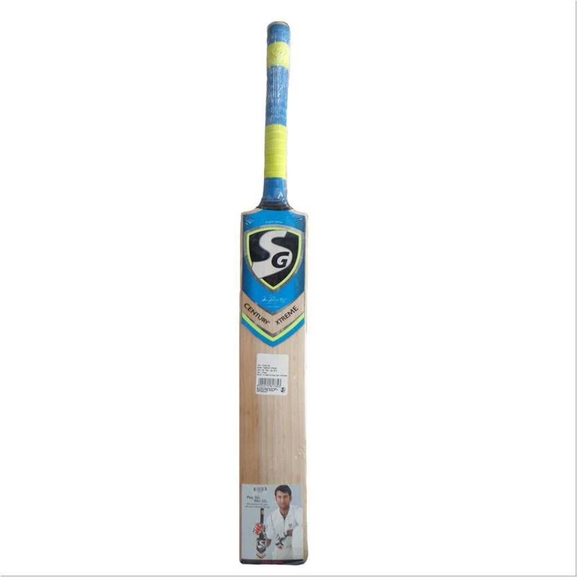 SG Century Xtreme English Willow Cricket Bat, Short Handle