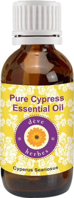 Deve Herbes Pure Cypress Essential Oil - Cyperus Seariosus