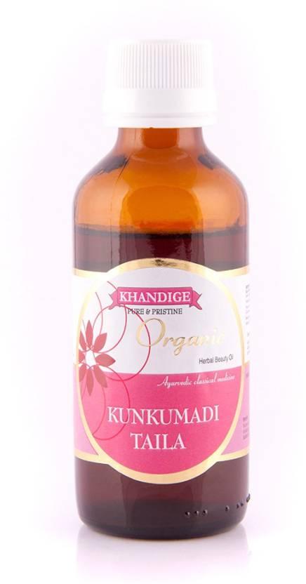 Khandige Organic Kunkumadi Oil - Price in India, Buy Khandige