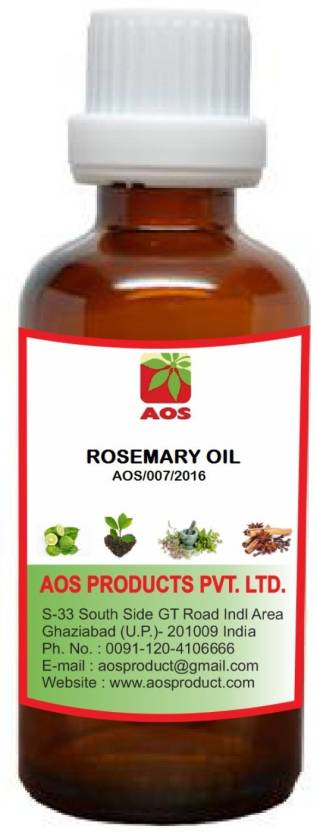 AOS Products 100% Pure and Natural Rosemary Oil
