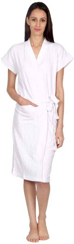 FILMAX® ORIGINALS White Free Size Bath Robe