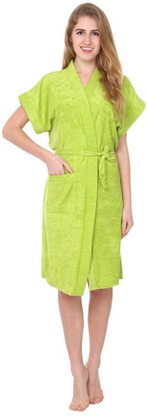 FILMAX® ORIGINALS Green Free Size Bath Robe