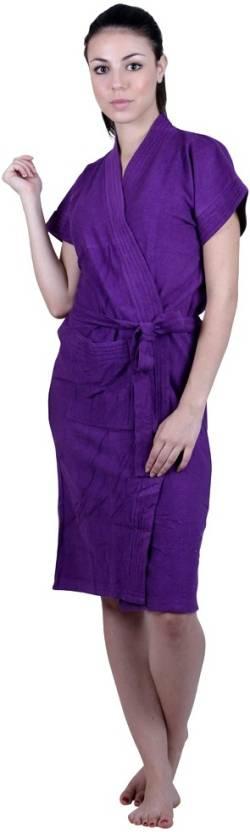FILMAX® ORIGINALS Purple Free Size Bath Robe