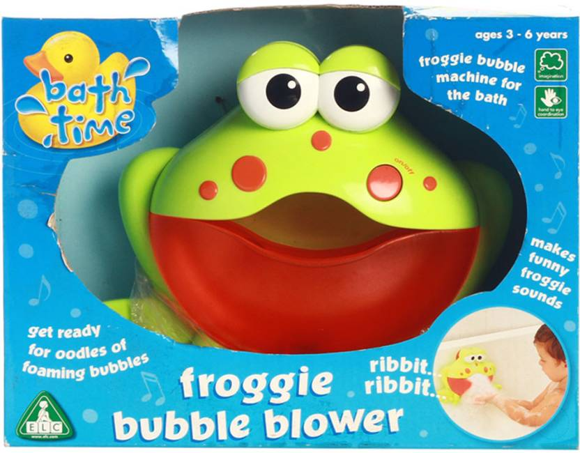 Early Learning Centre Frogger Bubble Bath Blower Bath Toy - Frogger ...
