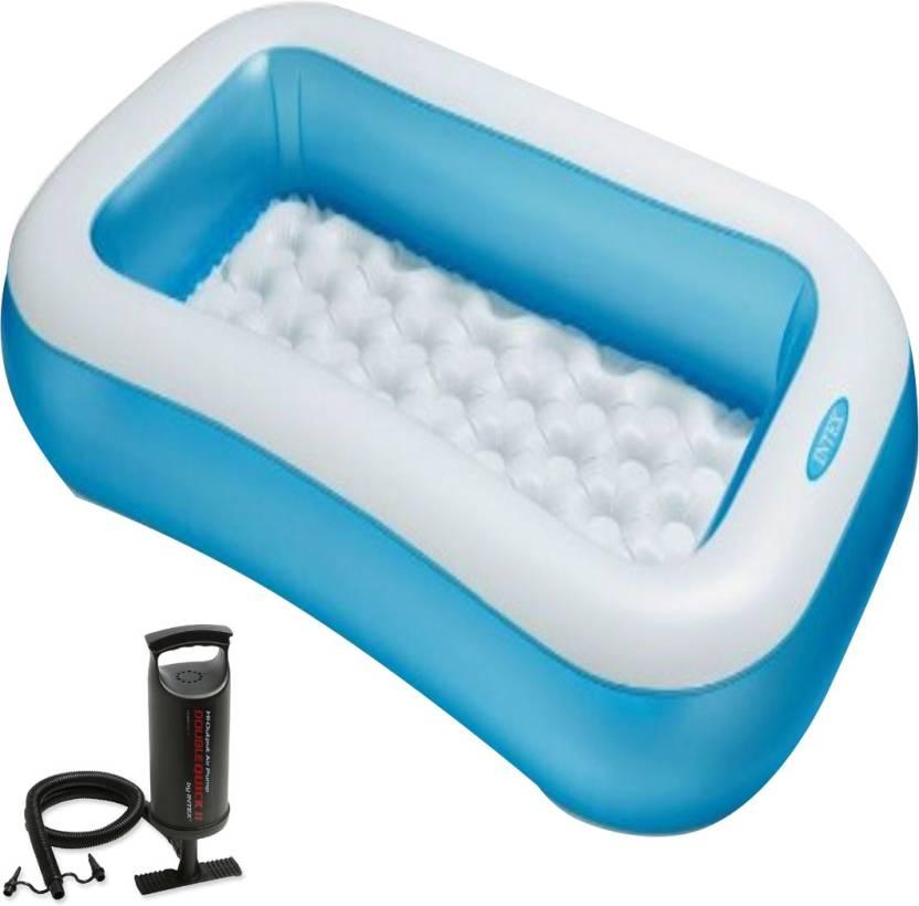 Intex Aadoo 5 Feet Ract Kids Bath Tub with Air Pump Price in India ...