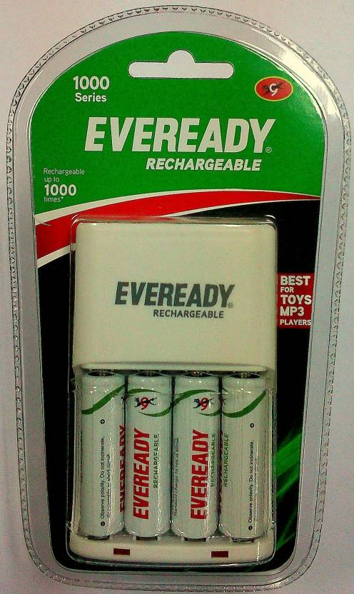 Eveready 1000 Series (with 4 AA Rechargeable battery) Mobile Charger