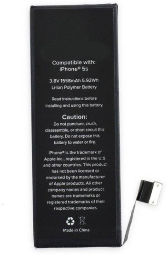 Big Square A1453 Capatible With Iphone 5s Battery Big Square