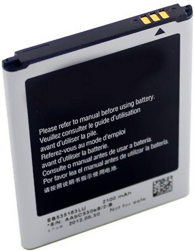 Samsung Mobile Battery For Samsung Galaxy Grand Duos i9082 EB535163LU ( 2100mAh) Price in India - Buy Samsung Mobile Battery For Samsung Galaxy Grand Duos ...