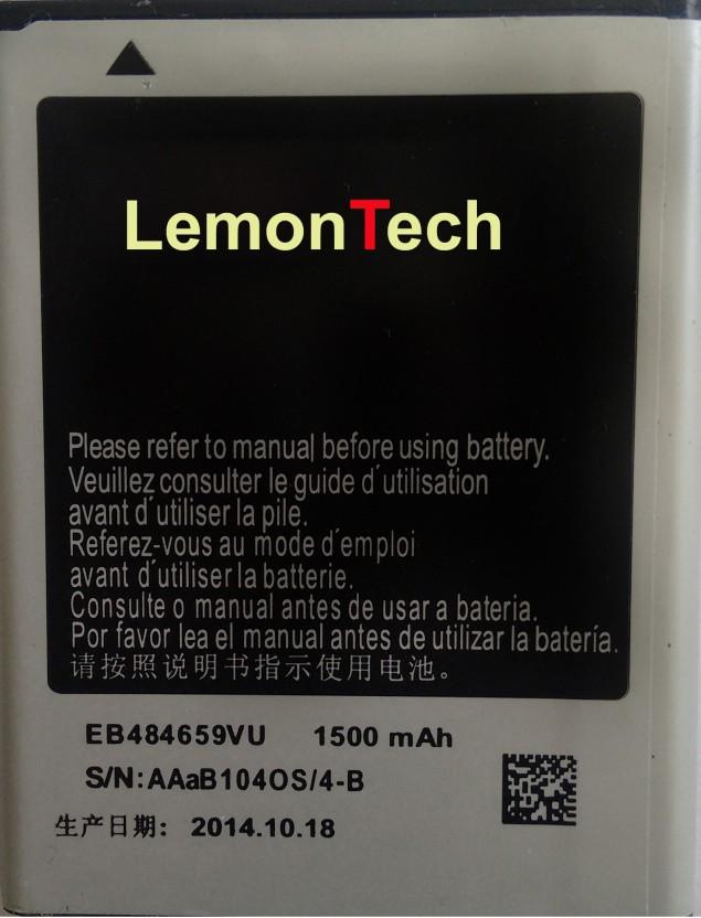 lemontech for samsung s8600 wave 3 eb484659vu battery lemontech rh flipkart com Samsung Wave 4 Samsung Wave 3 Cover