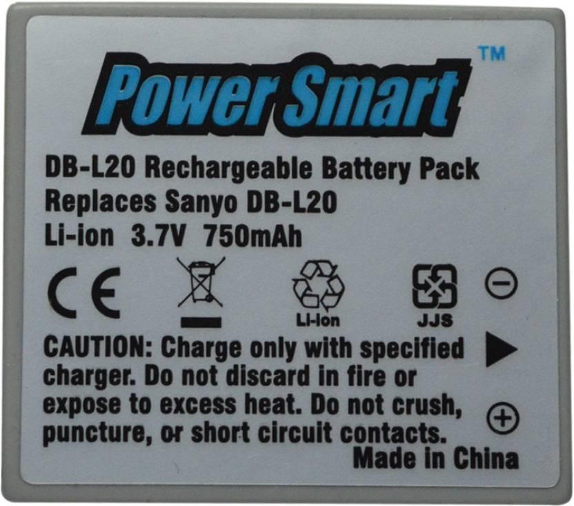 Power Smart Mobile Battery For 3.7V Li ion Rechargable Pack For SNO DBL20