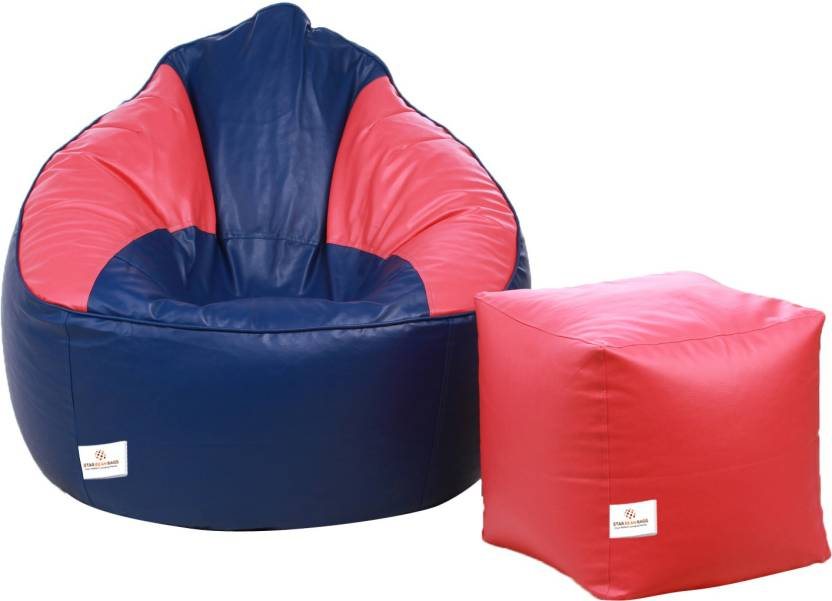 star xxxl bean bag sofa with bean filling price in india buy star