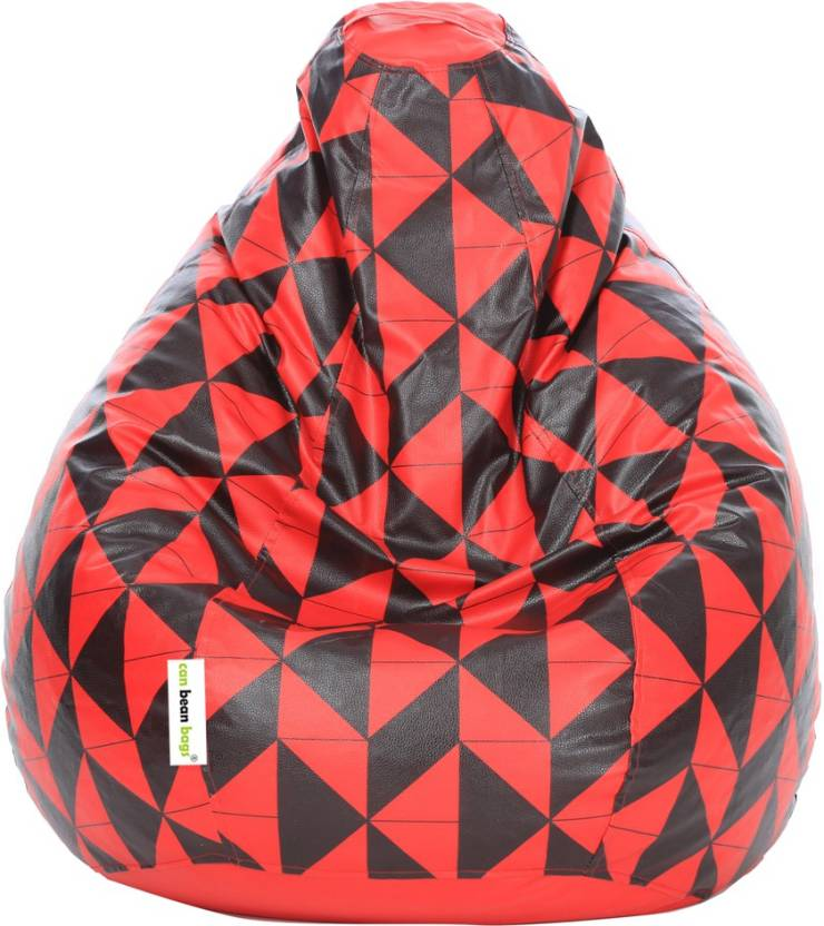 Can bean bags XXXL Tear Drop  Without Beans  Multicolor