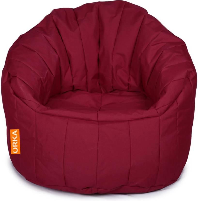 Superb Orka Xxxl Big Boss Chair Bean Bag Sofa With Bean Filling Machost Co Dining Chair Design Ideas Machostcouk