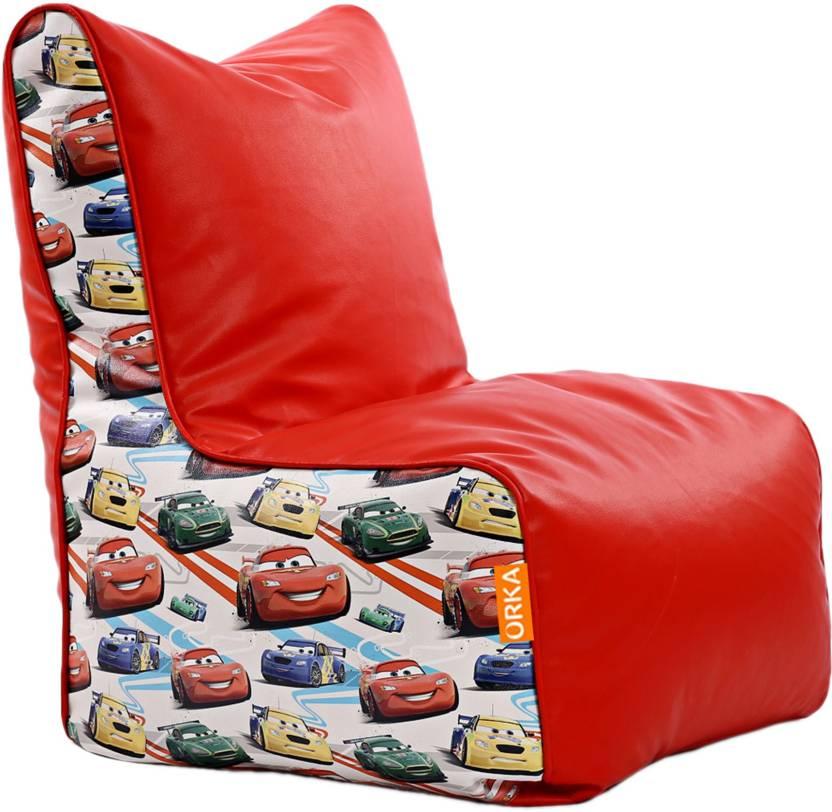 Swell Orka Xxl Pixar Cars Digital Printed Bean Bag Chair With Bean Machost Co Dining Chair Design Ideas Machostcouk