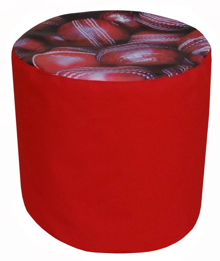 Fun ON XL Tear Drop Bean Bag Cover  Without Beans  Red