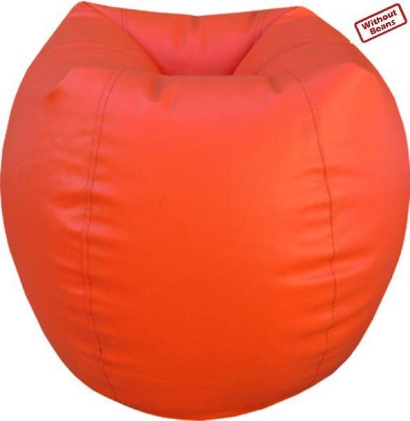 Awesome Fun On Xxxl Orange Teardrop Bean Bag Cover Without Filling Ibusinesslaw Wood Chair Design Ideas Ibusinesslaworg