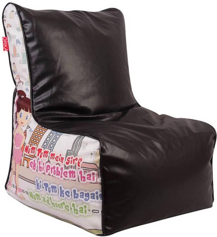 Admirable Orka Xl Bean Chair Xl Filled With Beans Bean Bag Chair With Bean Filling Machost Co Dining Chair Design Ideas Machostcouk