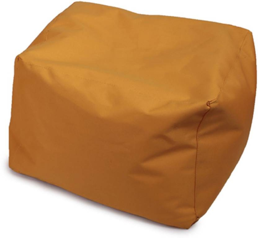 Fun ON XXL Tear Drop Bean Bag Cover  Without Beans  Yellow Fun ON Bean Bag Covers