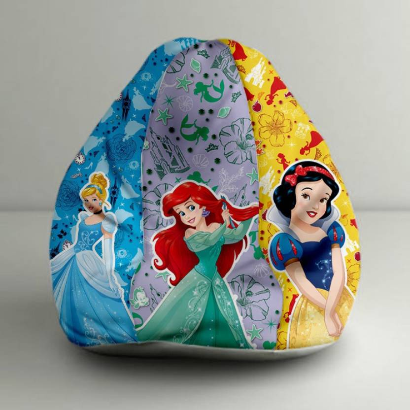 Amazing Orka Xxxl Princess Digital Printed Bean Bag With Bean Machost Co Dining Chair Design Ideas Machostcouk
