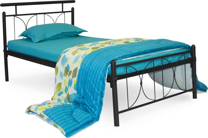 FurnitureKraft Perth Metal Single Bed