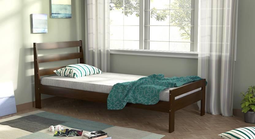 Urban Ladder Osaka Solid Wood Single Bed Price In India Buy Urban