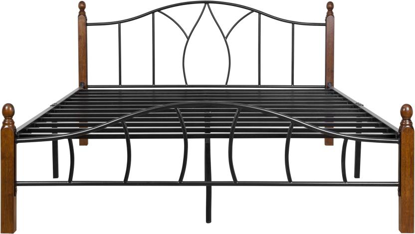 FurnitureKraft Montreal Metal Queen Bed