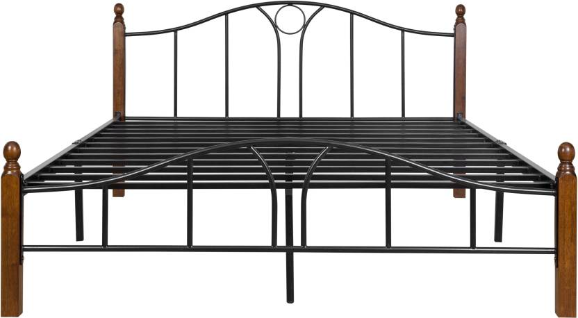 FurnitureKraft Toronto Metal Queen Bed