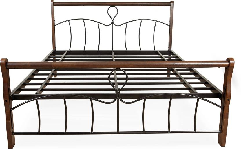 FurnitureKraft Moscow Metal Queen Bed