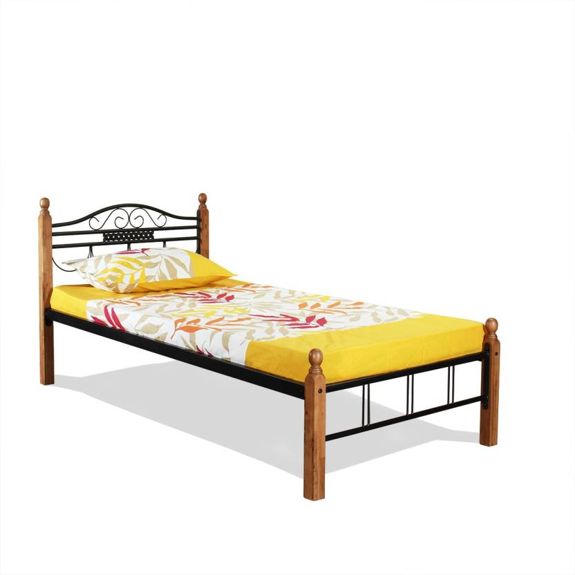 FurnitureKraft Tokyo Metal Single Bed