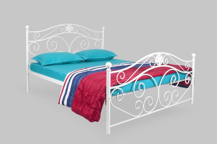 FurnitureKraft San Francisco Metal Queen Bed