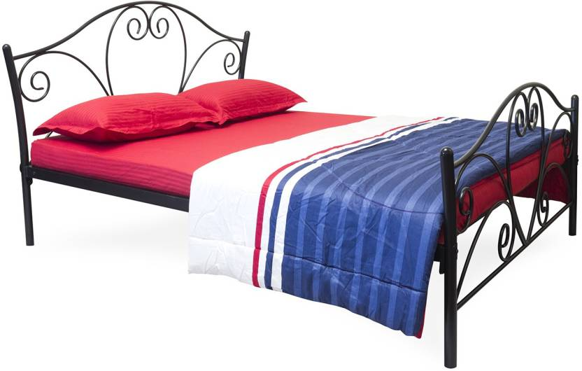 FurnitureKraft Atlanta Metal Queen Bed