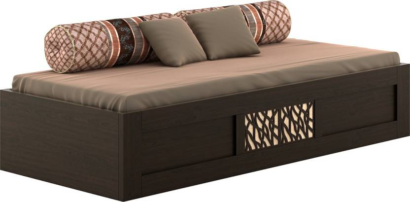 Spacewood Elegant Engineered Wood Single Box Bed Price In India
