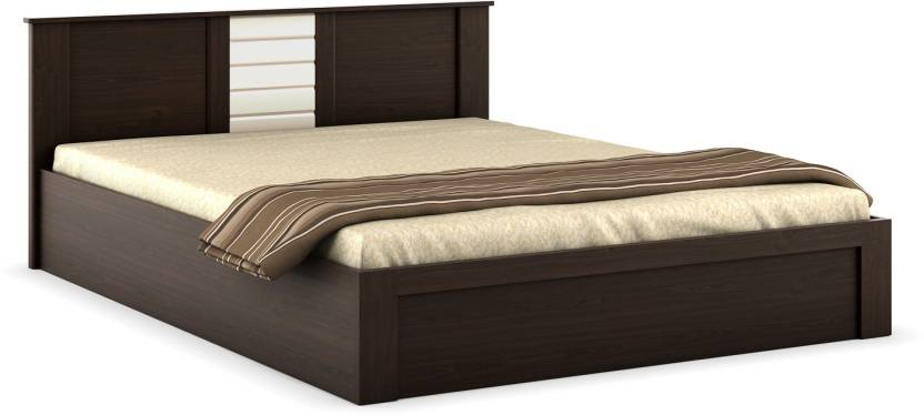 Extra 15-35% Off on Spacewood Furniture By Flipkart | Spacewood Engineered Wood Queen Bed With Storage  (Finish Color - Melamine) @ Rs.10,689