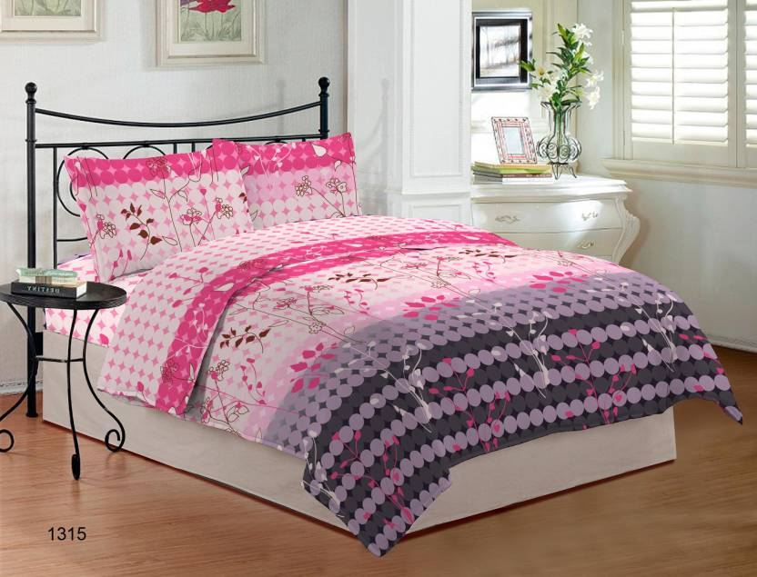 08c3cbc30 Bombay Dyeing Cotton Double King Floral Bedsheet - Buy Bombay Dyeing ...