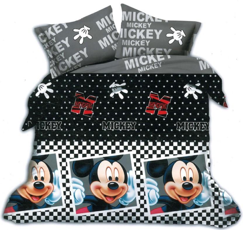 Kids Cotton Double Cartoon Bedsheet