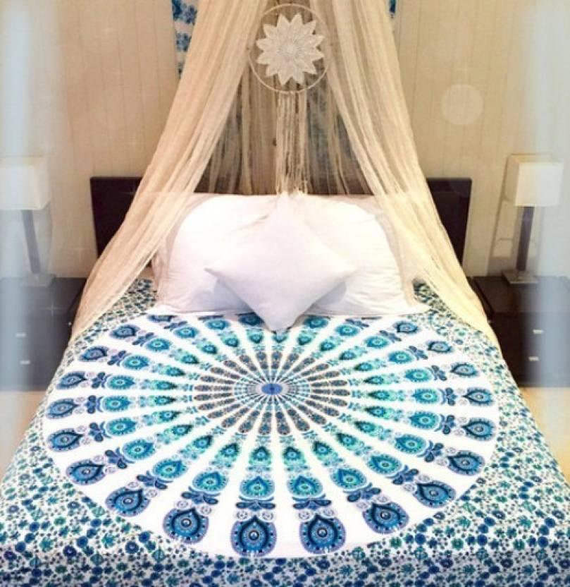 svt Cotton Double 3D Printed Bedsheet - Buy svt Cotton