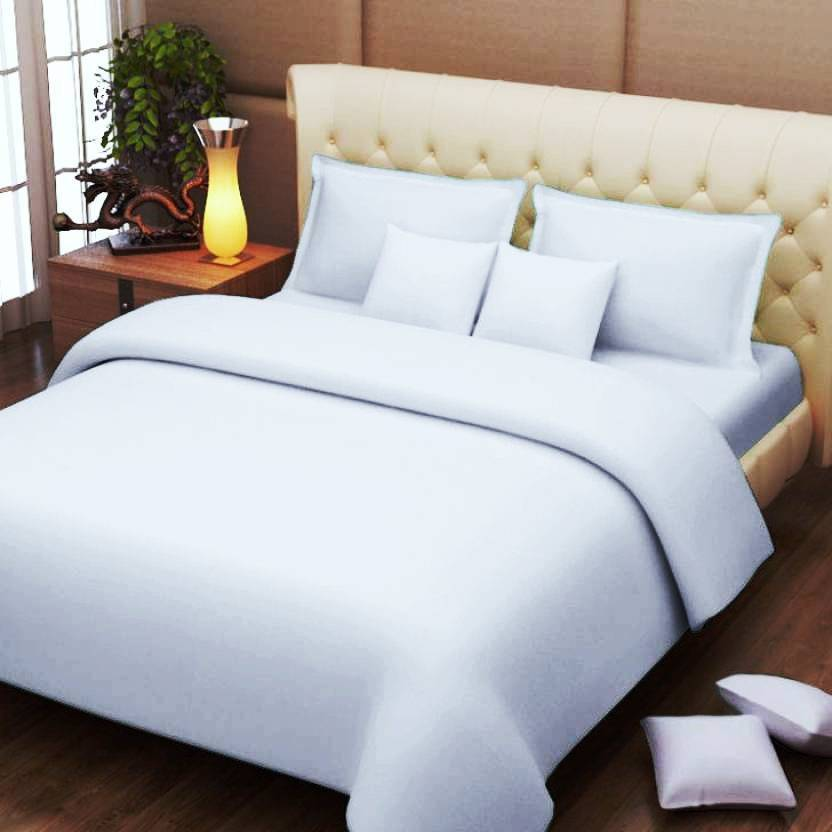 Bombay Mills Cotton Double Plain Bedsheet Buy Bombay Mills Cotton