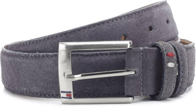 Tommy Hilfiger Men Grey Metal Belt