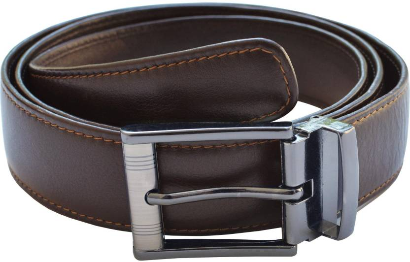 baf27d3682c7 Arpera Men Formal Brown Genuine Leather Belt Dark Brown - Price in India |  Flipkart.com
