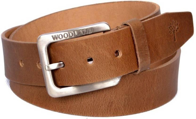 59c02ea32 Woodland Men Casual Brown Genuine Leather Belt Brown - Price in India