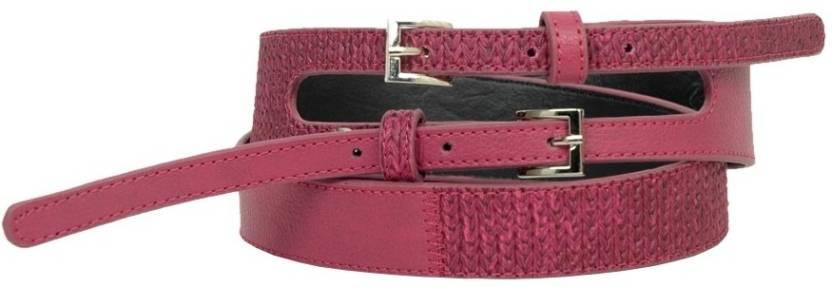 Baggit Women Casual Pink Artificial Leather Belt