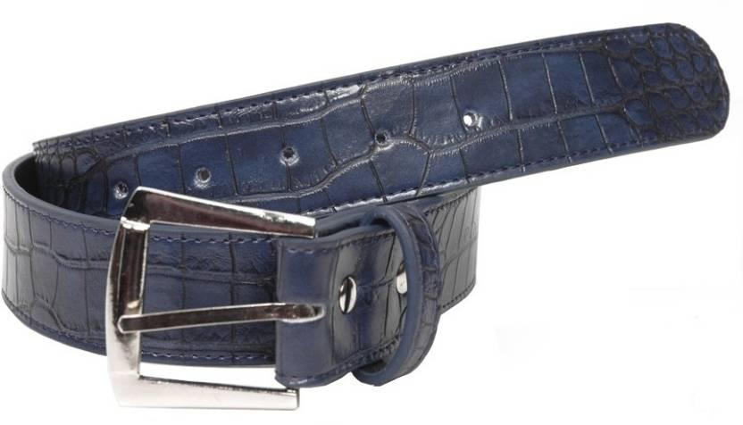 Baggit Men Casual Blue Artificial Leather Belt