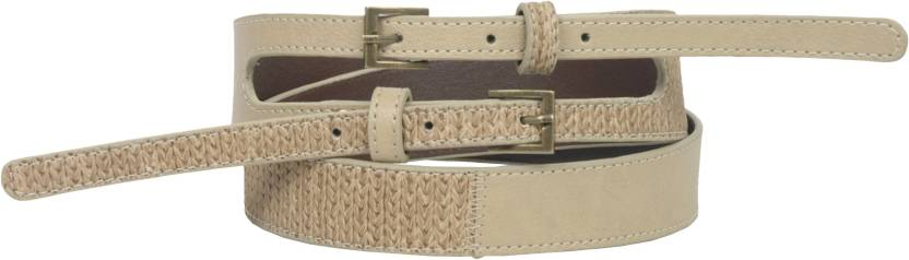 Baggit Women Casual Beige Artificial Leather Belt