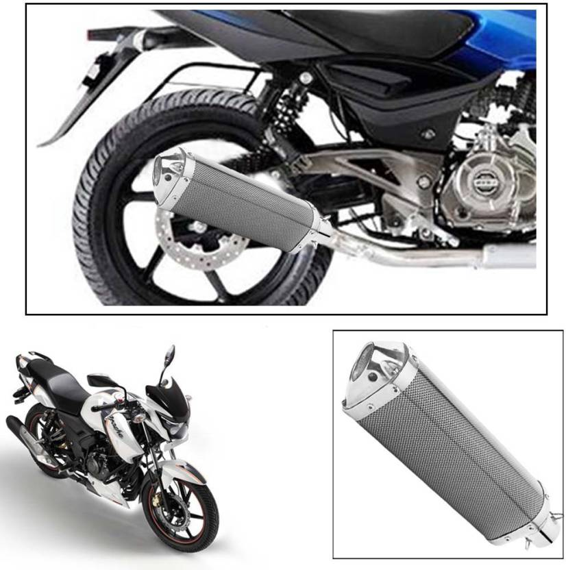 Vheelocityin Tvs Apache Rtr 160 Slip On Exhaust System Price In