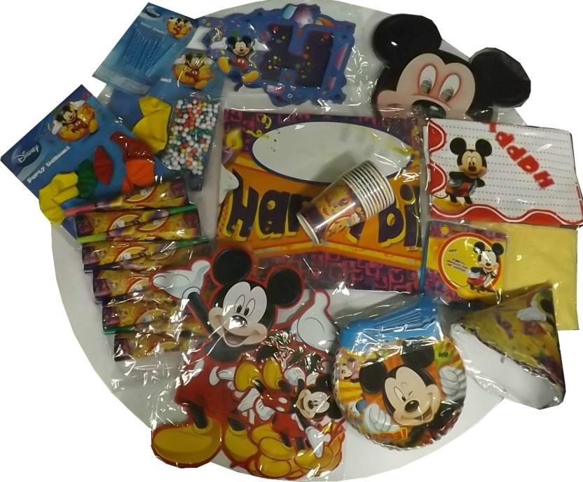 Disney Mickey Mouse Birthday Party Kit