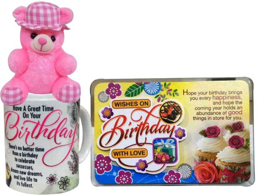 f68df99642a7 Saugat Traders Birthday Gift Combo - Soft Teddy