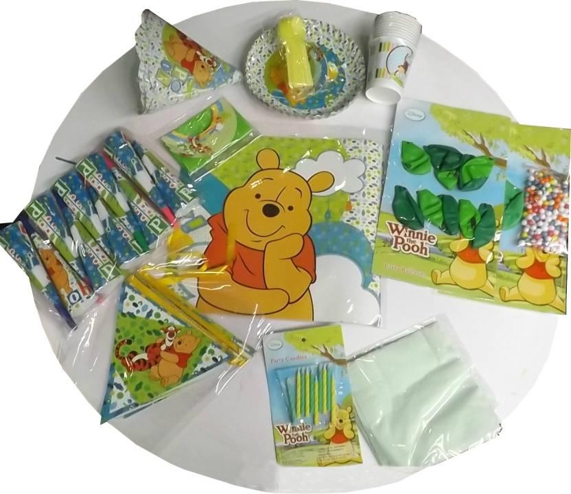 Disney Pooh Birthday Party Kit Set Of 12