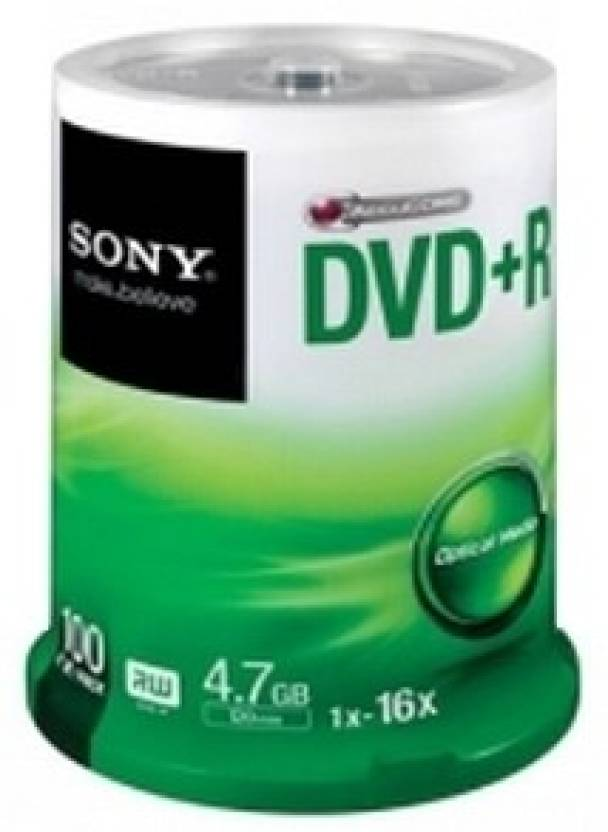 Sony DVD+R 100 Pack Spindle