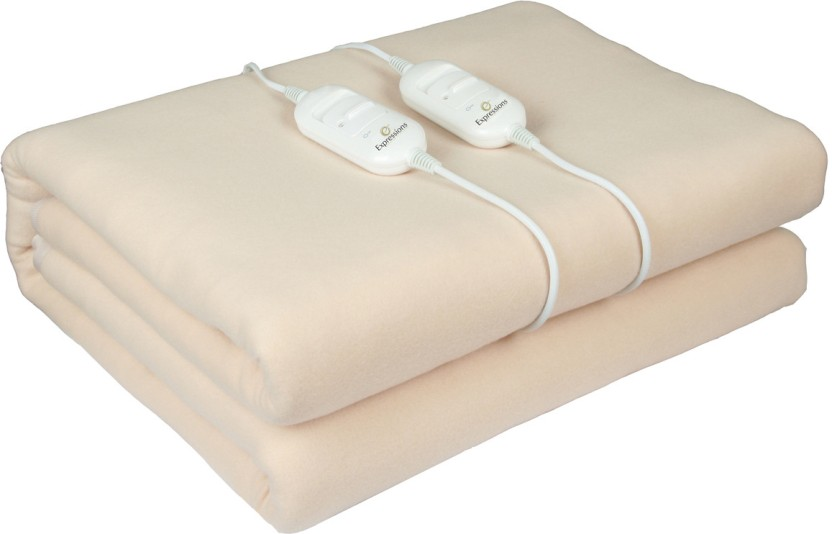Expressions Checkered Double Electric Blanket
