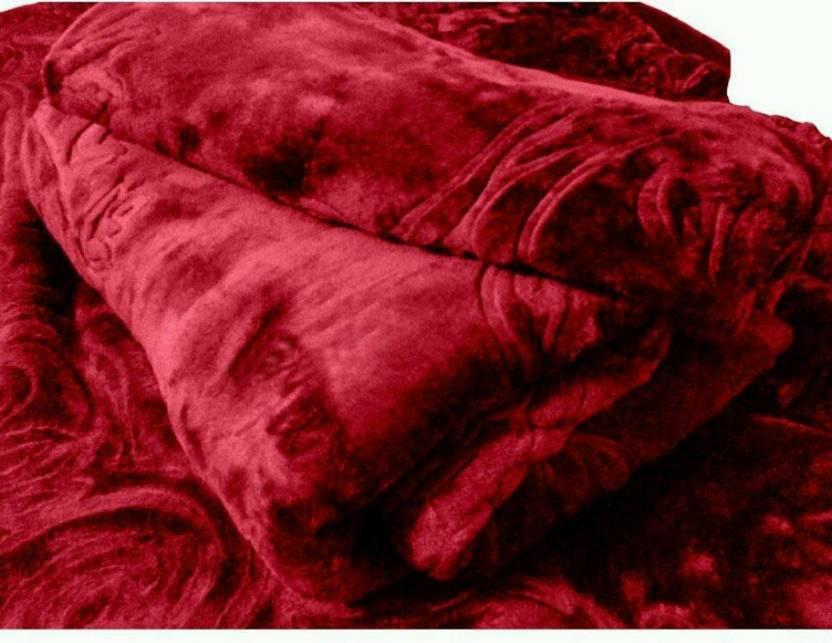 radhika creation floral double mink blanket buy radhika creation